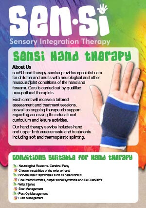Sensi Hand Therapy 2019 online