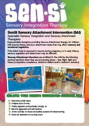 Sensi Sensory Attachment Flyer 2017 online