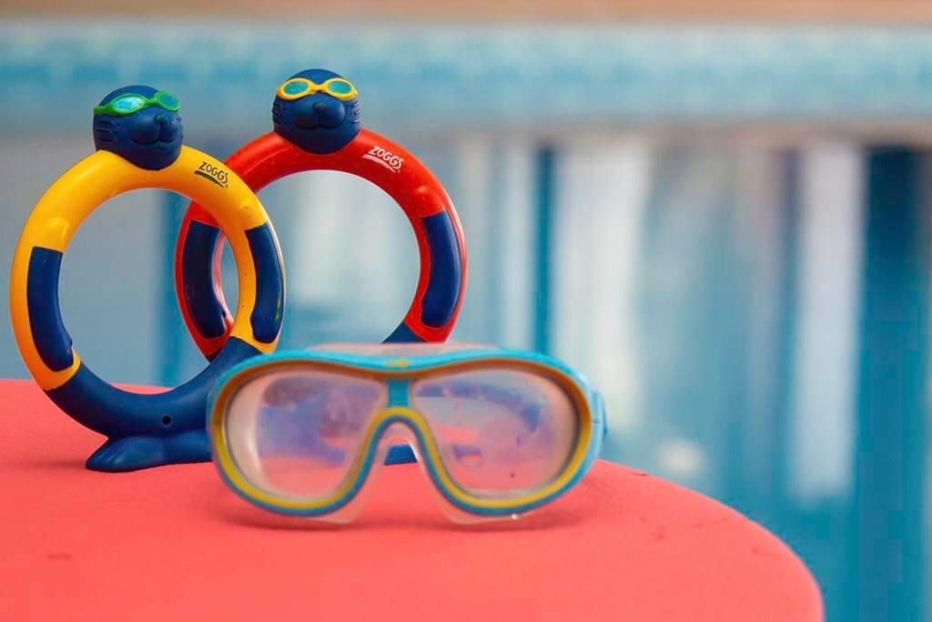 Sensi Swim Goggles and Rings