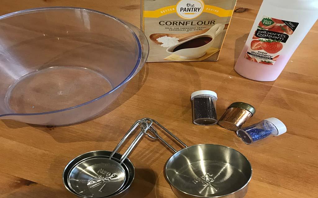 Super soft fairy dough Ingredients