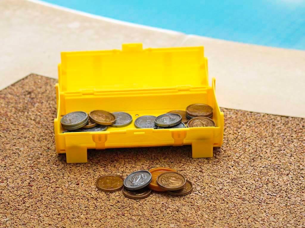 senSI Swim Diving for Treasure