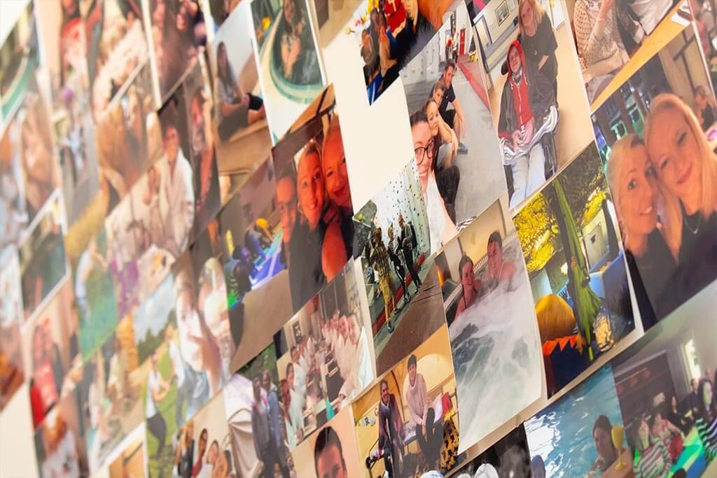 senSI Treatment Photo Wall